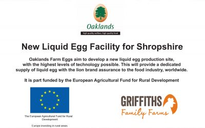 New Liquid Egg Facility for Shropshire