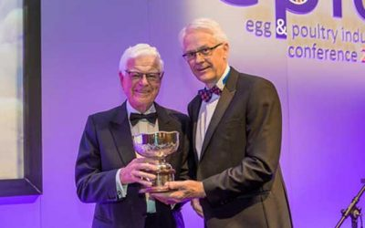 Aled Griffiths OBE receives The Peter Kemp Award